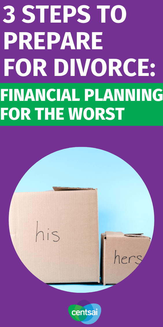 If you're ready to leave a marriage, you need to get your finances in order and has a solid #divorceplanning . So what do you do to prepare for divorce financially? Check out divorce advice for you! #CentSai #failedmarriage #divorceadvice #howtodivorce
