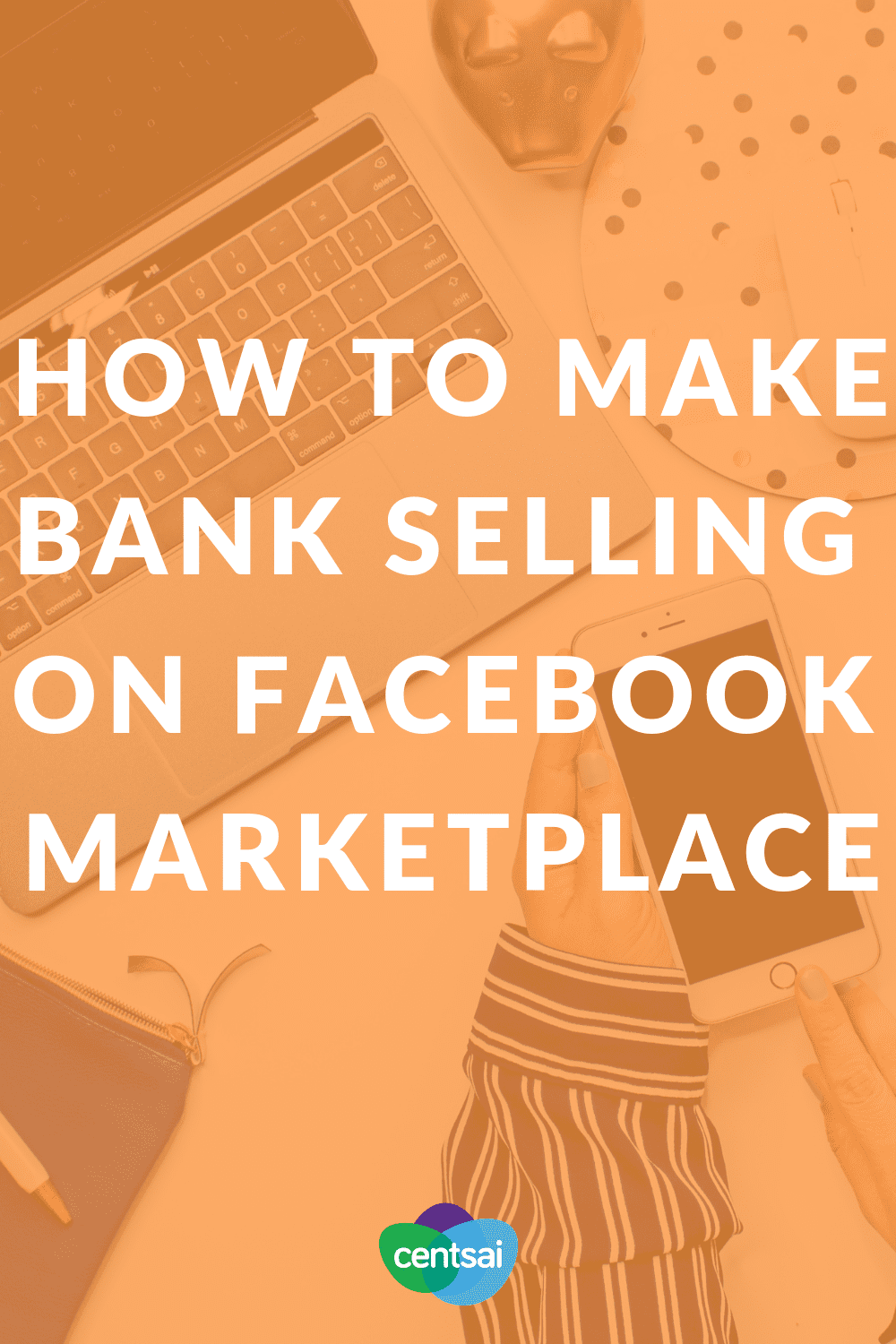How to Make Bank Selling on Facebook Marketplace. Got tons of clutter around the house? Turn your junk into money! Check out these six easy tips for selling it on Facebook Marketplace. #sidehustle #blogs #personalfinance #makemoney #facebook #extramoney #sidehustle #passiveincome