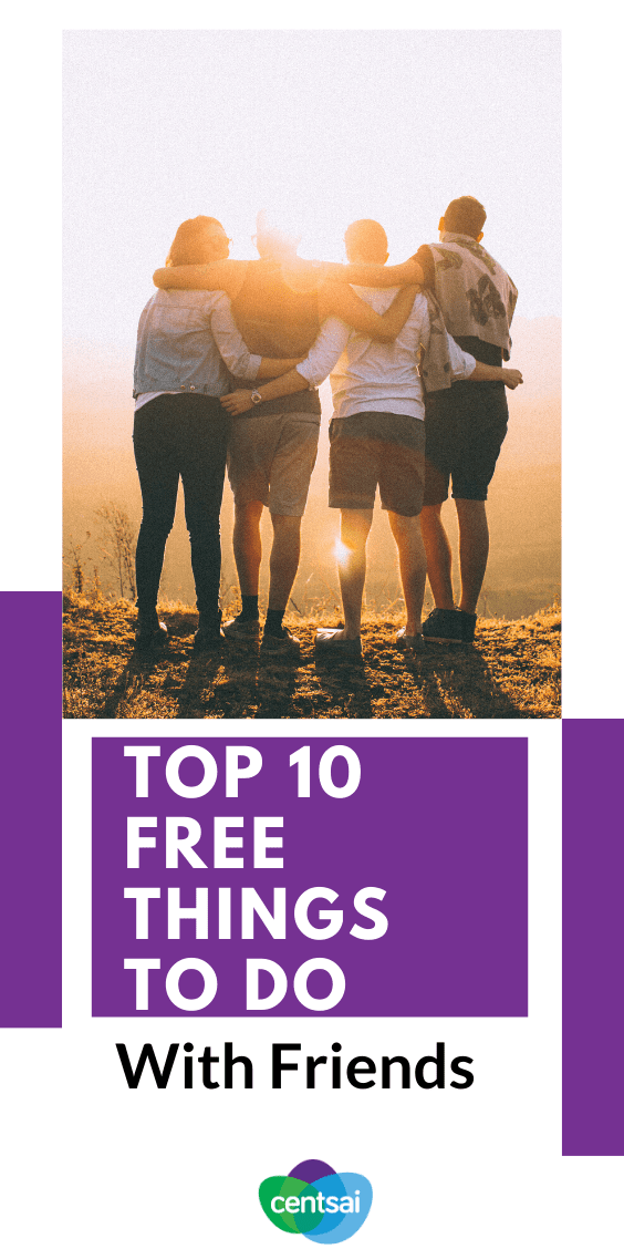 Looking for some free (and fun!) things to do with your friends? Why not try one of these ideas for your next night out? #frugalhacks #frugallifehacks #frugaltips #beingfrugal #CentSai