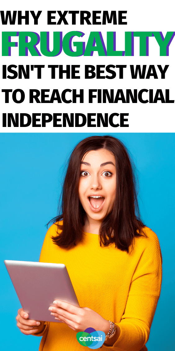 To actually reach financial independence in such a short time period, you'll have to continue living on the same amount of money you were living on before you achieved it. Check out these tips and learn how to reach financial independence and retire early. #CentSai #budget #Beingfrugal #budget #hacks #Lifestyle