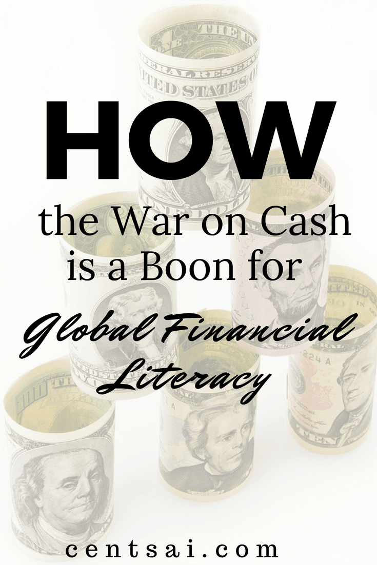 The war on cash leaves many unbanked in a difficult position. The use of technology may aid the unbanked - and their financial skills.