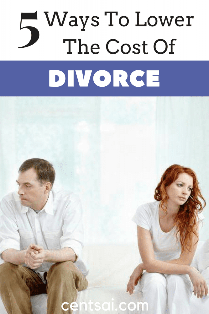 5 Ways to Lower the Cost of Divorce. The cost of divorce is often high, but it doesn't have to be. Check out these low-cost divorce options that make the process more affordable!
