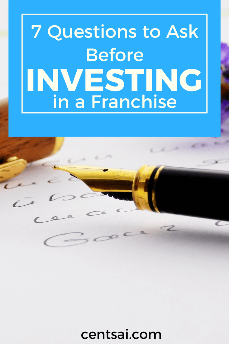 Ever thought about investing in a franchise? You'll want to consider these questions before becoming a franchisee.