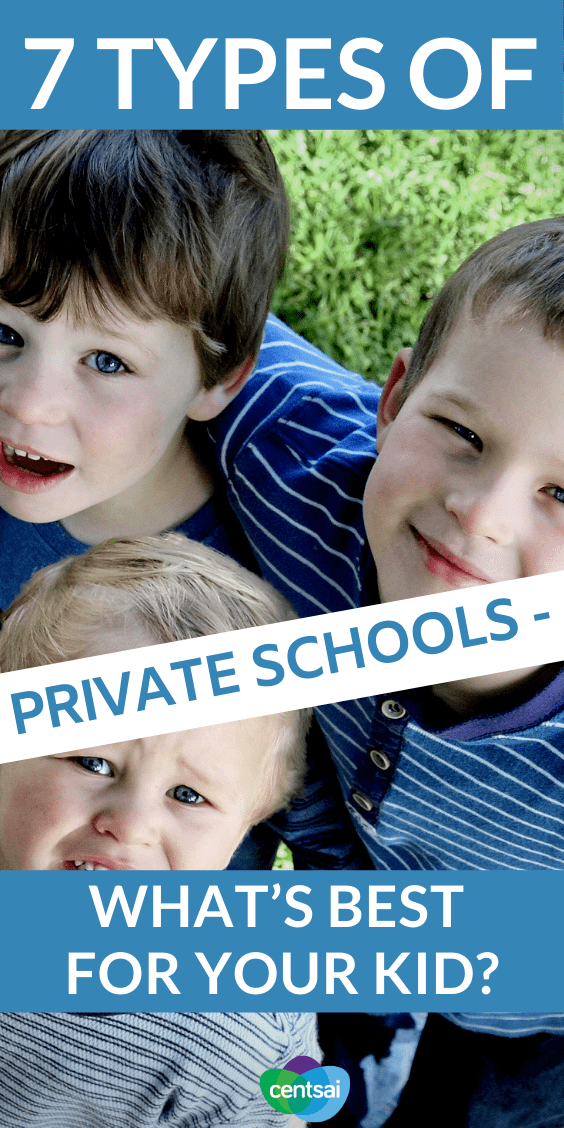 You only want the best for your kids, right? Sometimes a private education will help them learn better. Check out the different types of private schools to see which one will serve your children best without draining your wallet. #parenting #CentSai #children #frugaltips