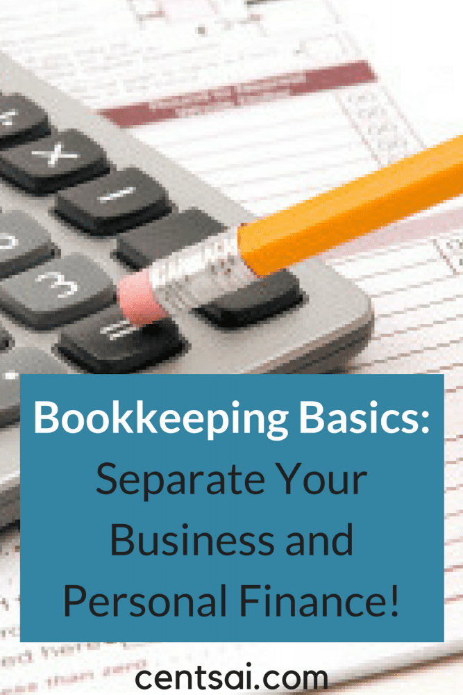 Bookkeeping Basics: Separate Your Business and Personal Finances! Separating business and personal finances is a must for many. One side-hustle pro explains why, and helps you brush up on bookkeeping basics.