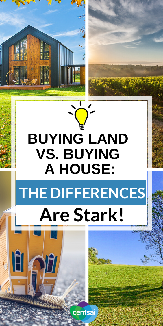 Buying land to build a house is a far cry from the more traditional route of buying a house that's already built. Check out this tips and learn the difference! #investing #tips #buyingaland #investmentproperty #realestate #CentSai