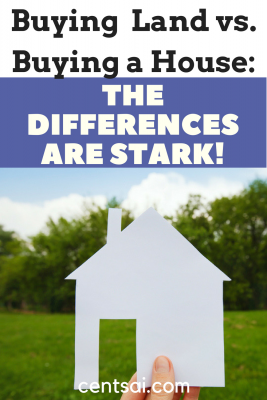 Buying Land vs. Buying a House: The Differences are Stark! The process of buying land to build a house is a far cry from the more traditional route of buying a house that's already built.