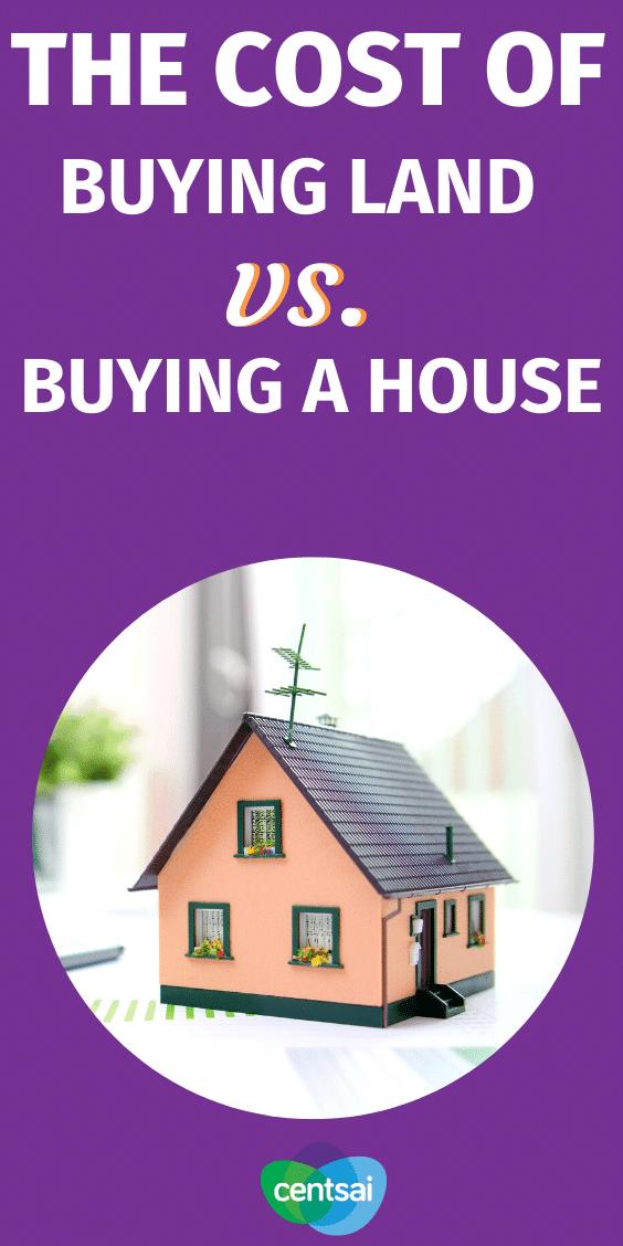 Comprar un terreno para construir una casa está muy lejos de la ruta más tradicional de comprar una casa que ya está construida. ¡Mira estos consejos y aprende la diferencia! #investing #tips #buyingaland #investmentproperty #realestate #CentSai