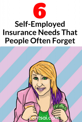 6 Self-Employed Insurance Needs That People Often Forget. So you're making the leap into freelancing. Have you thought about all the self-employed insurance plans you need to get now? Make sure you're covered. #freelancing #insurance #selfemployed