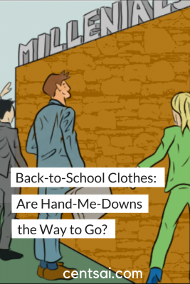 Back-to-School Clothes: Are Hand-Me-Downs the Way to Go? So you've written up your back-to-school clothes list and you're ready to go shopping. But are you about to spend more than you should?
