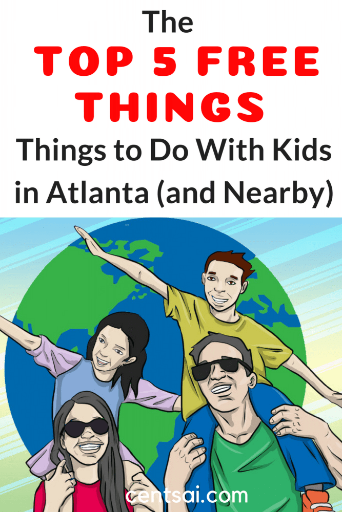 The Top 5 Free Things to Do With Kids in Atlanta (and Nearby). Yes, it's absolutely FREE! There are all sorts of free activities for kids in Atlanta. If you've got little ones in Georgia, make sure to take advantage of them! #travel #budgettravel #family #parentingblog