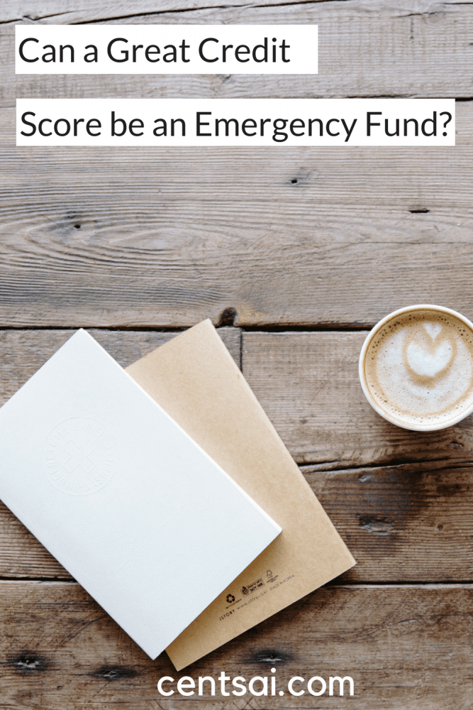 Can a Great Credit Score be an Emergency Fund? If you have a great credit score, you'll qualify for great interest rates should you need to take out a loan or get an emergency credit card.