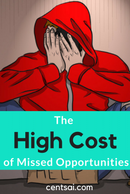 The High Cost of Missed Opportunities. What is opportunity cost? In short, it's what you could lose out on through missed opportunities. And that cost can be surprisingly high and learn how to invest for beginners! #investing #investingmoney #investingforbeginners