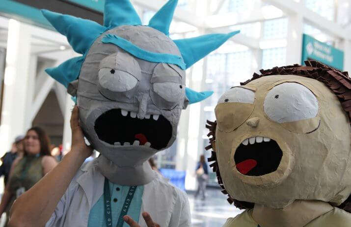 Rick and Morty money lessons