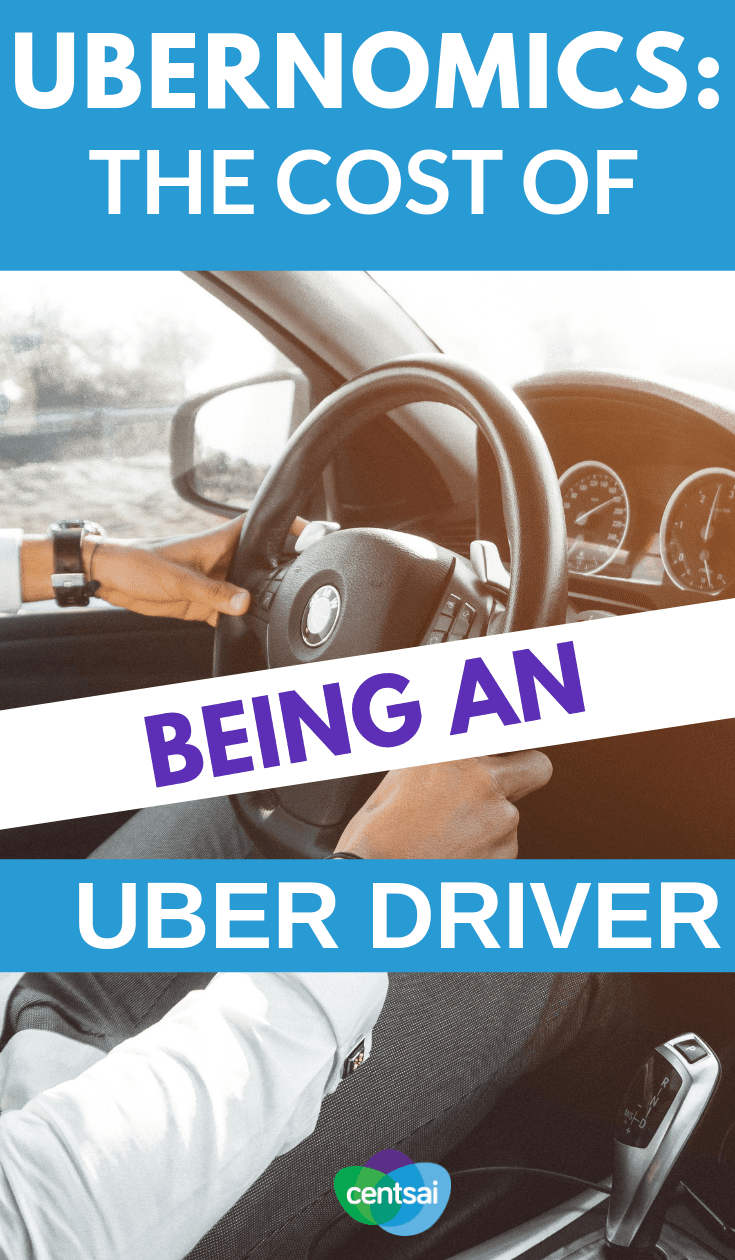Ubernomics: The Cost of Being an Uber Driver. Is driving for Uber really such a good gig? Check out Min Fin's analysis of the cost of being an Uber driver to find out. #Uber #ridesharing #rideshare #drivingtips