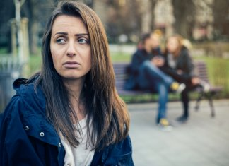 Woman stressed by financial decisions and not knowing where to turn for help