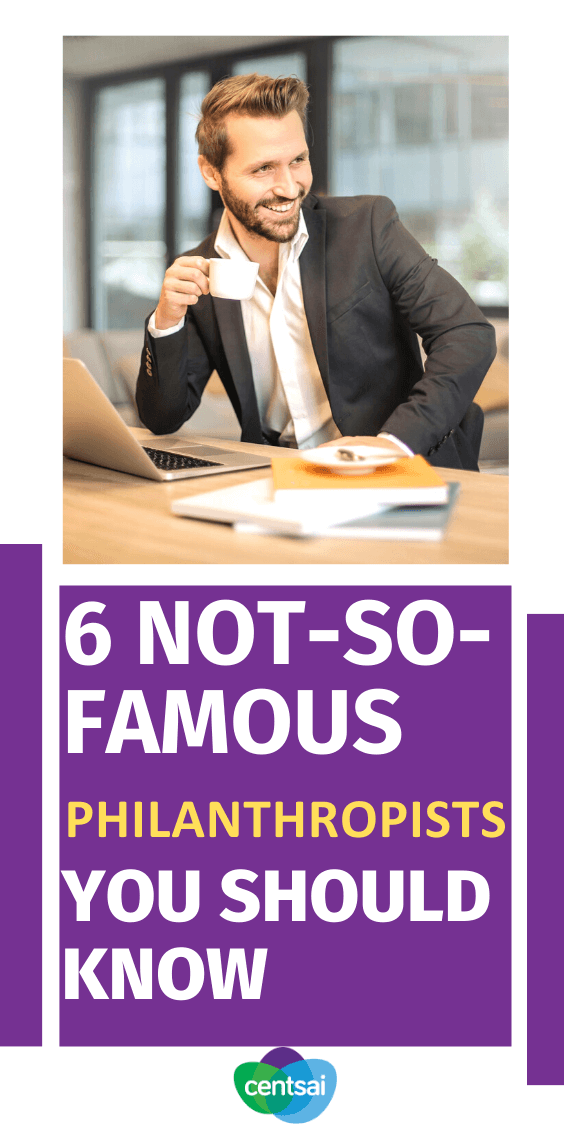 You've heard of Bill Gates, but what about Azim Premji? There are many unkown philanthropists who deserve more love. Check out this list! #CentSai #successful #philanthropists