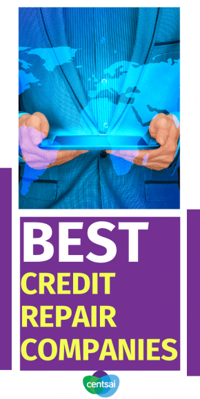Review your choices to help you fix your credit as fast as possible. Compare the best credit repair companies now for free. #CentSai #creditcard #creditreport #creditrepair #creditcards