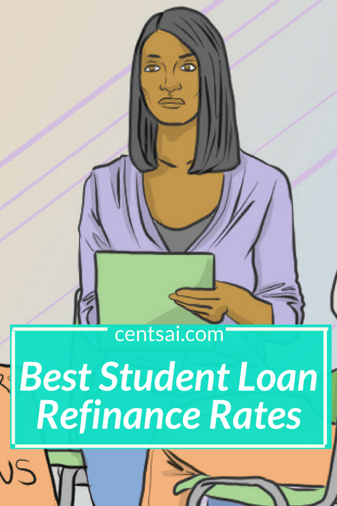 Best Student Loan Refinance Rates. Basically, if you're approved, a refinancing company will pay off your old loan and give you a new loan at a lower interest rate. #studentloan #rates #refinancerates