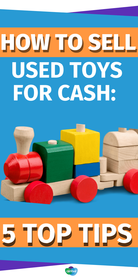 Did you know that collectors will often pay hefty sums for old toys? Don't throw them out just yet. Check out these 5 BEST ways to sell those used toys for CASH! #makemoremoney #CentSai #makeextramoney #makequickcash #makemoneyonline