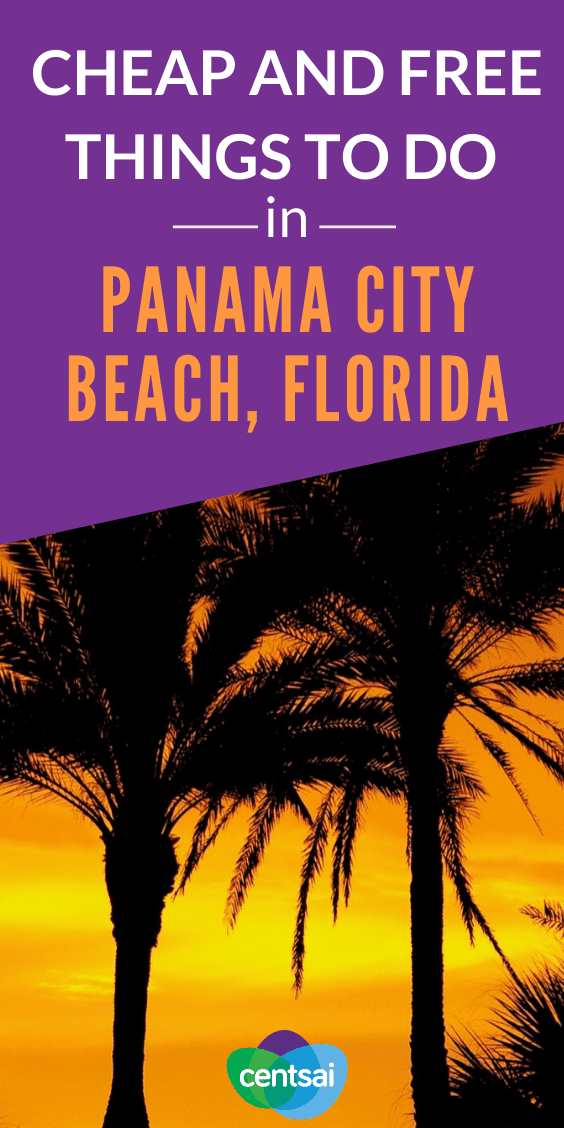Want to enjoy Florida without making your wallet sweat? Check out our tips and guide to cheap and free things to do in Panama City Beach, Florida. #Bucketlist #tips #Destinations #traveltips #CentSai