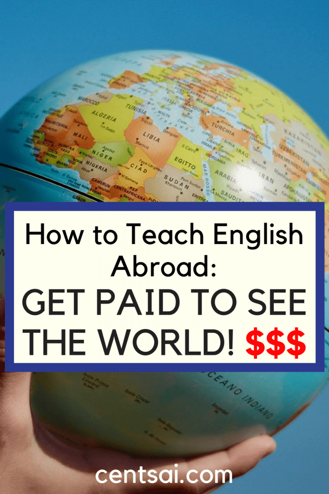 How to Teach English Abroad: Get Paid to See the World! So you want to travel, but you can't afford it. Did you know that you can teach English abroad and get paid to see the world? Here's how!