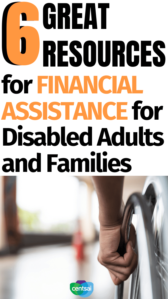 Do you have a disability and struggle with poverty? You're not alone. Help is available. Check out the available financial assistance for disabled adults for families. #CentSai #financialassistance #financeplanning #personalfinance #disability