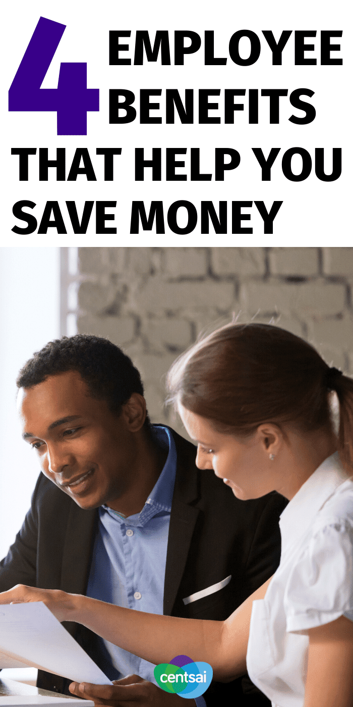 Employee benefits can make life a lot sweeter. But did you know that some of them may even help you save a ton of money? Well, what are you waiting for? Start taking advantage of them today. Here's how. #CentSai #savingtips #moneysaving #moneysavingtips
