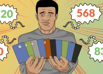 How to Get a Free Credit Report and See Your Score - art by Jonan Everett