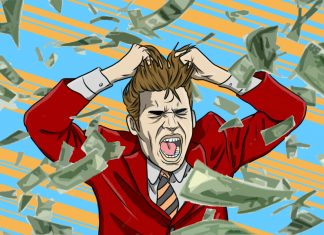 Lifestyle Inflation: My Job Affected My Relationship With Money - art by Jonan Everett