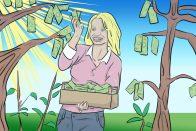 Spring Savings: 8 Life Hacks That Help You Cut Costs   Ways to Save Money   Art by Jonan Everett