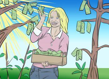 Spring Savings: 8 Life Hacks That Help You Cut Costs | Ways to Save Money | Art by Jonan Everett