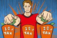 Understanding tax brackets and tax rates - How do tax brackets work? - art by Jonan Everett