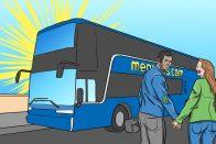 Affordable Travel: Don't Miss the Megabus | Art by Jonan Everett