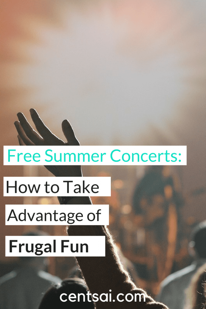 Free Summer Concerts: How to Take Advantage of Frugal Fun. Do you love music, but hate the idea of going broke on all those expensive concert tickets? We've got you covered. Check out these savvy tips for taking advantage of free summer concerts. #frugalfun #savvytips