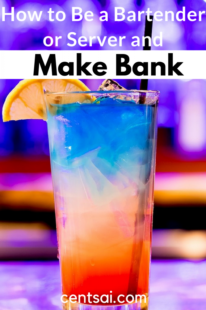 How to Be a Bartender or Server and Make Bank. Food service jobs suck — the work is hard, and everybody has customer-related horror stories. But believe it or not, you can actually make good money by tending bar or waiting tables. Learn how to be a bartender or server and make bank.