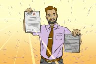 How to File an Amended Tax Return | CentSai | Art by Jonan Everett