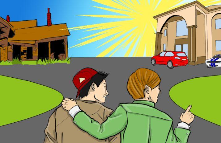 Do I Need a Financial Adviser? Tips for Broke Folks   Art by Jonan Everett