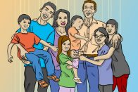 Large-Family Budget: How to Save, Even With 6 Kids | Art by Jonan Everett