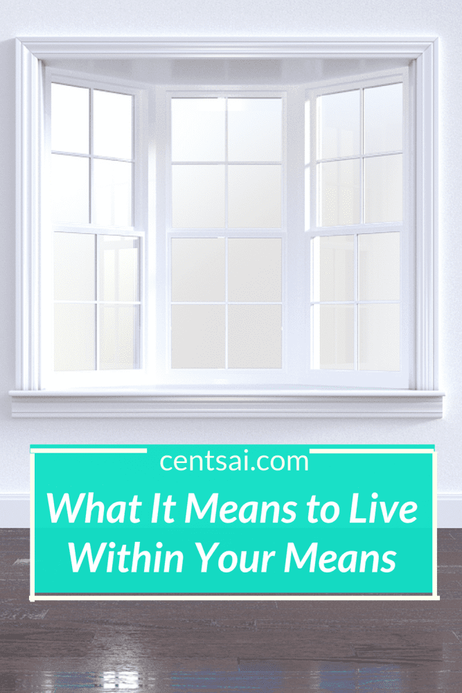 What It Means to Live Within Your Means .To live within your means, you must maintain an equilibrium between income and expenses, meeting all your obligations without using debt for living expenses. #livingyourmeans