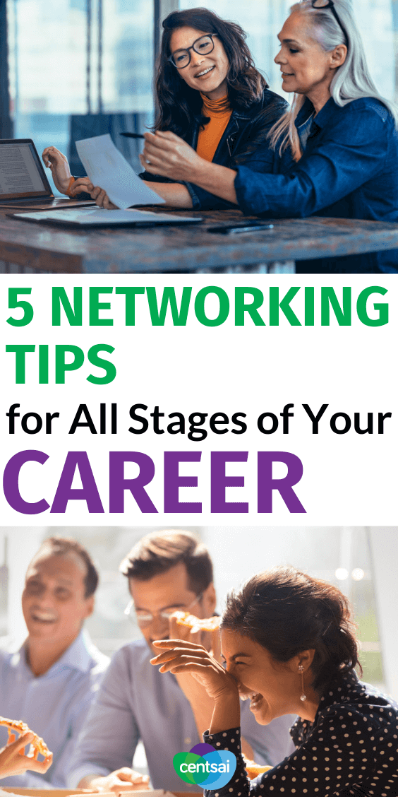 Are you actively cultivating your network? Do you want to level up your career and join the networking? This post is perfect for you! Check out these five networking tips that will help you in different times in your career. #ideas #Business #CentSai #social