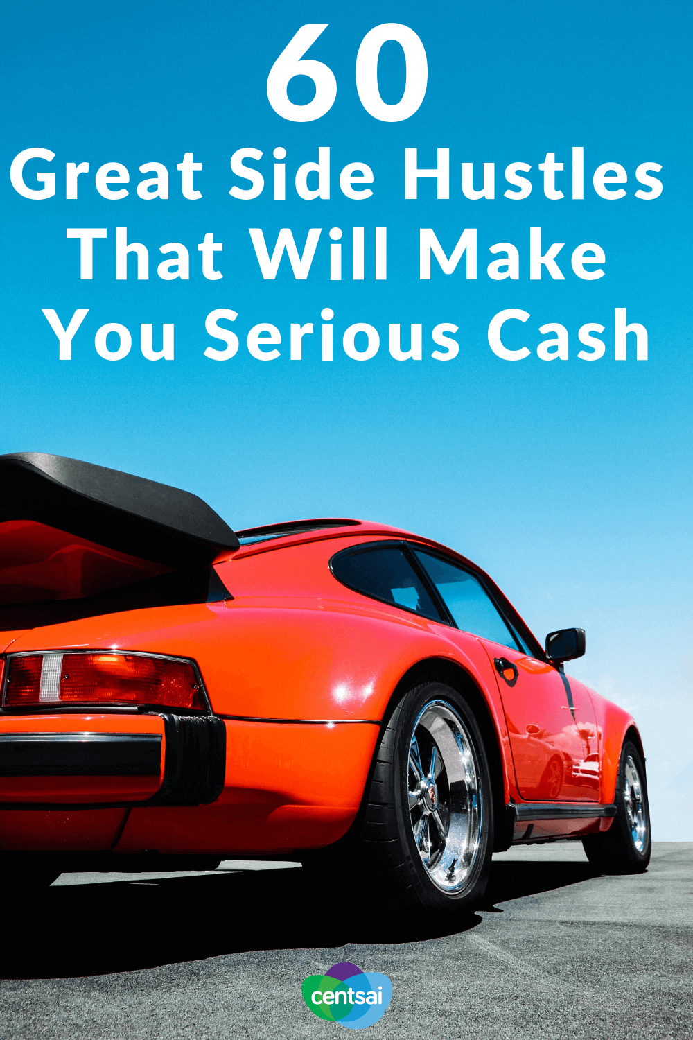 60 Great Side Hustles That Will Make You Serious Cash. Ever wish you had a little extra money? You don't have to sell your dog to get it. Check out these great side hustle ideas and get your moneymaking mojo on. #sidehustle #makemoney #extramoney