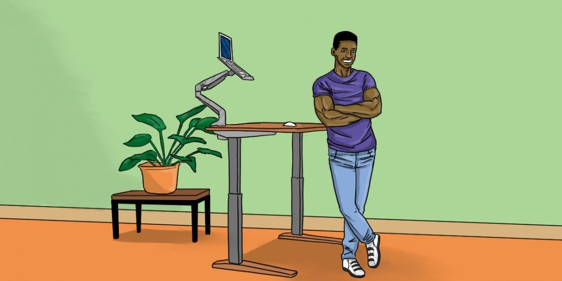 Are Standing Desks Good For You Centsai