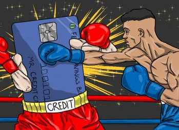 How to Dispute a Credit Card Charge - art by Jonan Everett