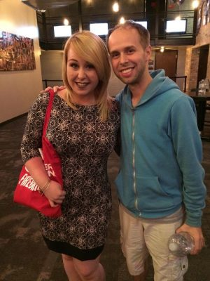 Writer Kelly Meehan Brown and Team StarKid's Nick Lang