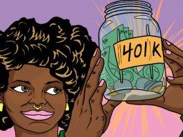 Millennials Saving for Retirement | Art by Jonan Everett