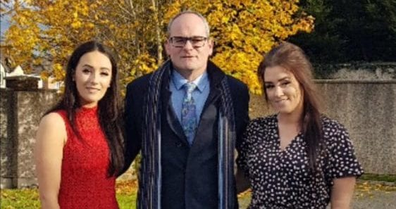 Niamh Ring with her dad and sister | Money Lessons My Dad Taught Me