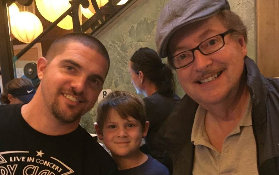 Nick Bradfield with his dad and son | Money Lessons My Dad Taught Me