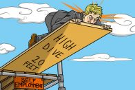 Should you quit your day job? Art by Jonan Everett