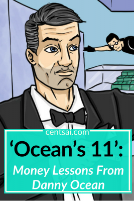 'Ocean's 11': Money Lessons From Danny Ocean. Do you ever put off saving money because you don't have enough to stash any away? Check out what Danny Ocean can teach you about saving while on a budget. #savingmoney #savingtips #savingmoneytips #savingmoneyideas #savingtipsbudget #savingtipsmoney
